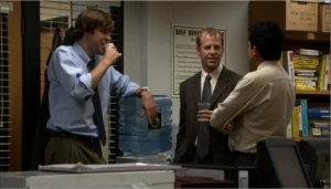 The Office- Water Cooler- November Blog